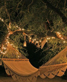 Fairy Lights Solar 19.2M White 240 LEDs - Party Holiday Decor Lighting