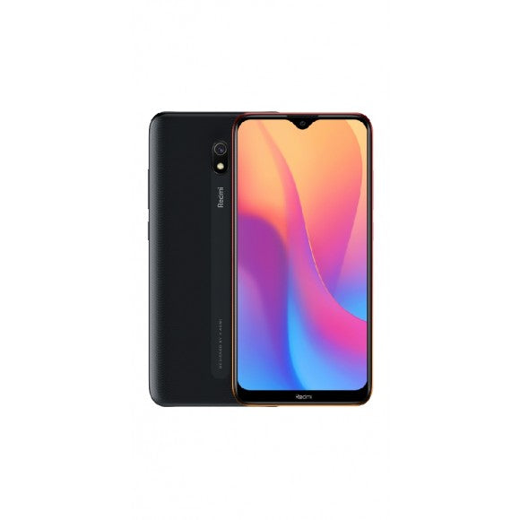 Redmi 8A 32GB Midnight Black with Cover and Screen Protector