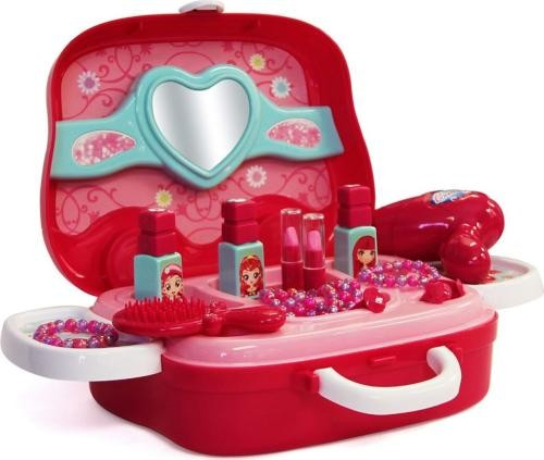 Beauty Play Set 3 in 1 Suitcase - Pretend Play Toys