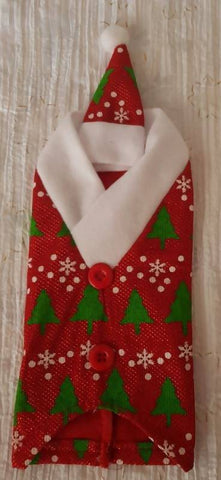 Christmas Wine Bottle Cover and Hat