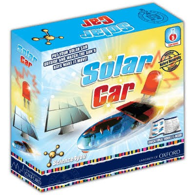 Science for You Solar Car Oxford - Kids Educational Outdoor Toys Gifts