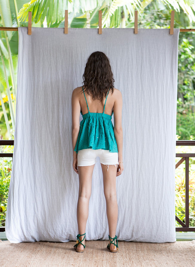 SHANA TOP - LIGHT GREEN