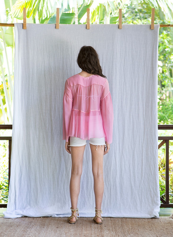 SILIA TOP - PINK