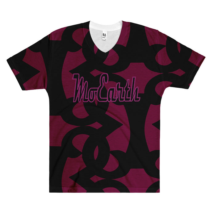 Moearth All-Over Print  -  RSHP Vneck Tshirt