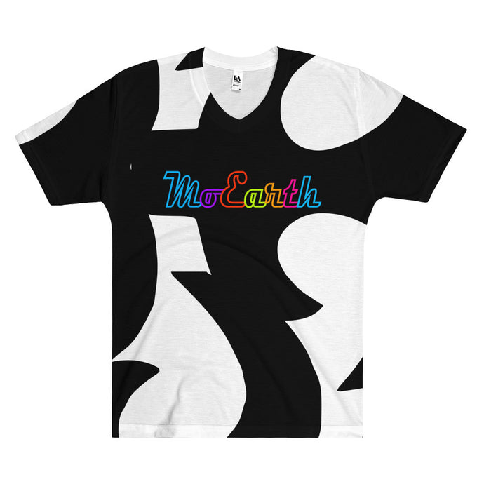 Moearth All-Over Print  -  AND Vneck Tshirt