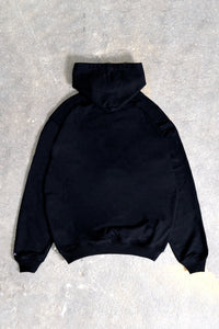 PAISLEY BLACK SNAP BUTTON HOODIE