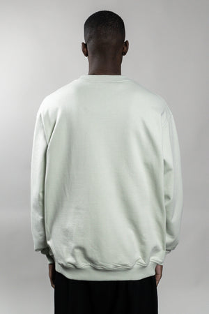 BOLT SAGE GREEN CREWNECK