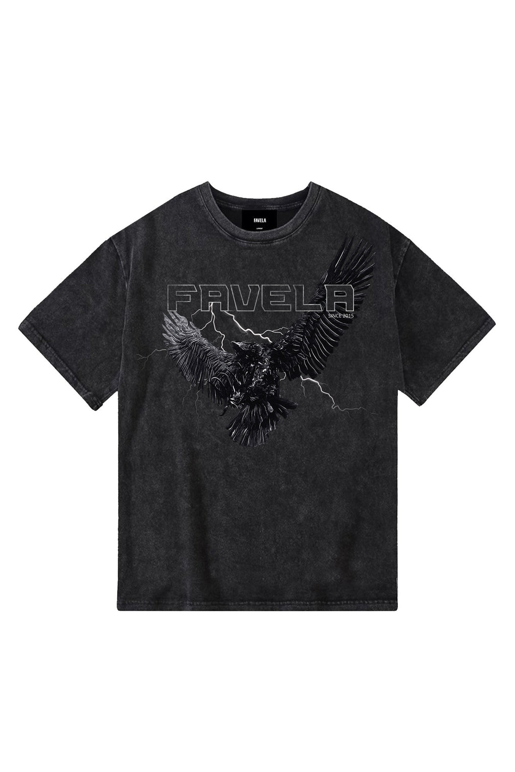 EAGLE ENZYME BLACK T-SHIRT