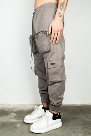 TAUPE MILITARY CARGO JOGGER V1