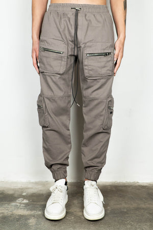 TAUPE MILITARY CARGO JOGGER V2
