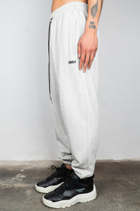 GREY MELANGE BASIC JOGGER