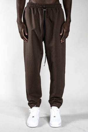 COFFEE BROWN BASIC JOGGER