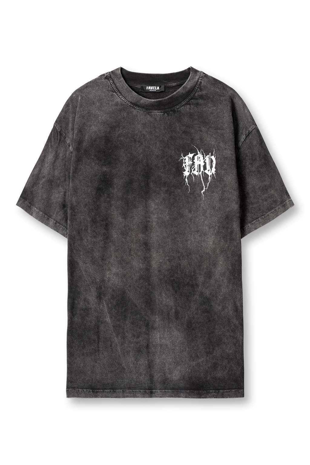 METAL SMALL  BLACK WASHED T-SHIRT
