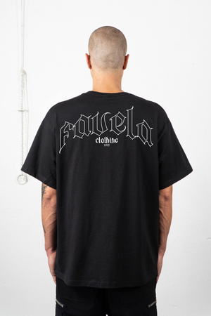 OUT BLACK T-SHIRT