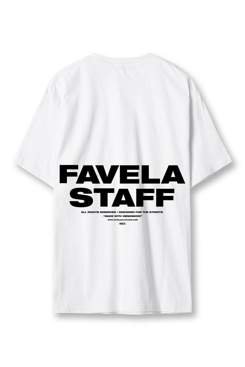 STAFF WHITE T-SHIRT