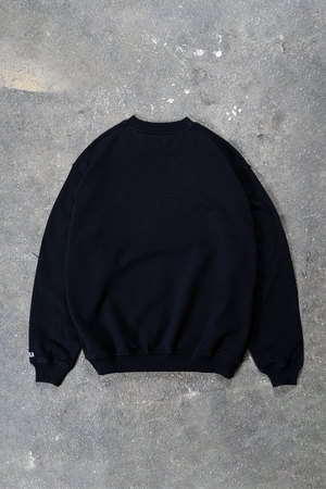 BOLT CHROME BLACK CREWNECK