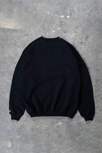COLLEGE OUTLINES BLACK CREWNECK