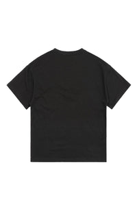 CROCODILE BLACK T-SHIRT
