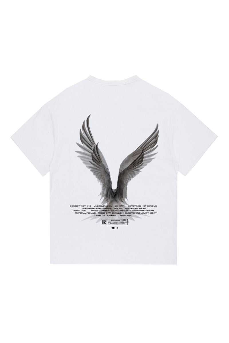 FREEDOM WHITE T-SHIRT