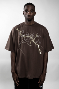 BOLT COFFEE BROWN T-SHIRT
