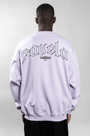 OUT LAVENDER CREWNECK