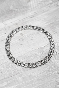 THIN CUBAN LINK CHAIN BRACELET