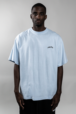 OUT SKY BLUE T-SHIRT