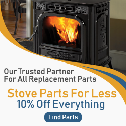 Save 10% OFF all stove parts from our affiliate partner