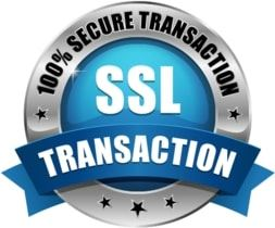 ssl trusted secure transactions badge