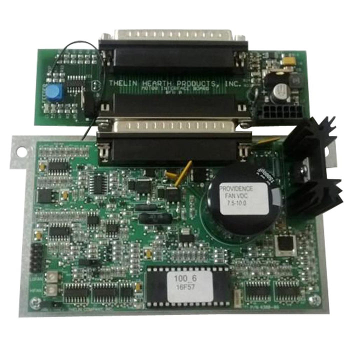 Thelin Circuit Board assembly for The Providence Pellet Stove, 00-0005-0172 - Stove Parts 4 Less