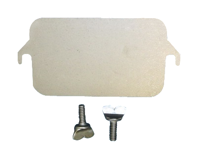 Harman Burn Pot Cleanout Cover With 2 Wingscrews, 1-00-06623 - Stove Parts 4 Less