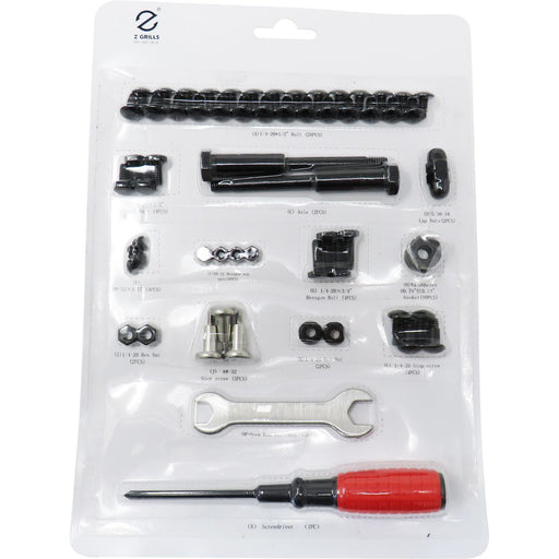Z Grills Hardware Package for 10002B/E Pellet Grills