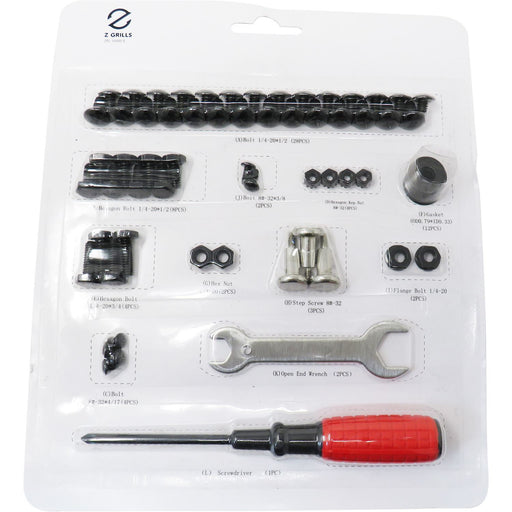 Z Grills Hardware Package for 1000D/E Pellet Grills