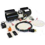 Fireplace Blower Fan Kit For Quadrafire & Heat n Glo, # GFK-160KITAMP - Stove Parts 4 Less