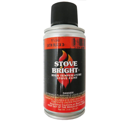 Stove Bright Paint Satin Black 3oz, 1990