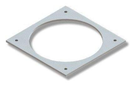 Lennox, Whitfield Combustion Quick Disconnect Large Square Gasket Part# 61050016 - Stove Parts 4 Less