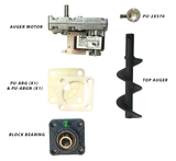 Englander Pellet Stove Top Auger Feed System Kit Including Auger Motor, Shaft, Bearings and More - Stove Parts 4 Less