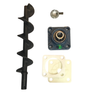Englander Bottom Auger Kit Includes Shaft, Bearing, Locking Collar & Gaskets - Stove Parts 4 Less