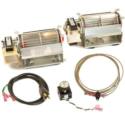 Fireplace Dual Blower Kit For Vermont Castings & Majestic, #BLOTSDVKIT-AMP - Stove Parts 4 Less