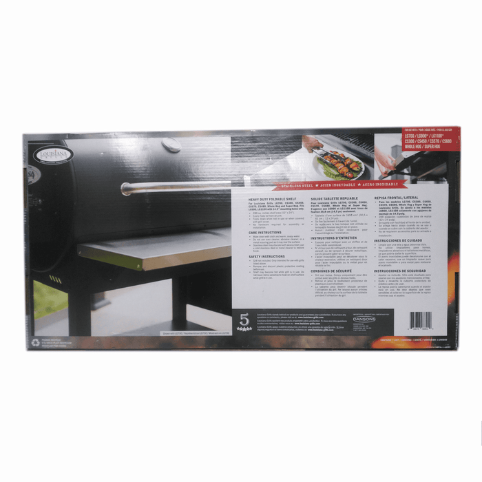 Louisiana Grill Deluxe Stainless Steel Front Shelf,  56210 - Stove Parts 4 Less