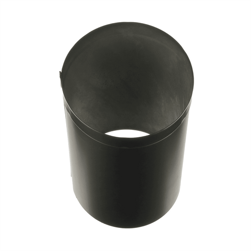 DuraVent 6'' DuraBlack Oval to Round Adapter 6DBK-ADOR - Stove Parts 4 Less