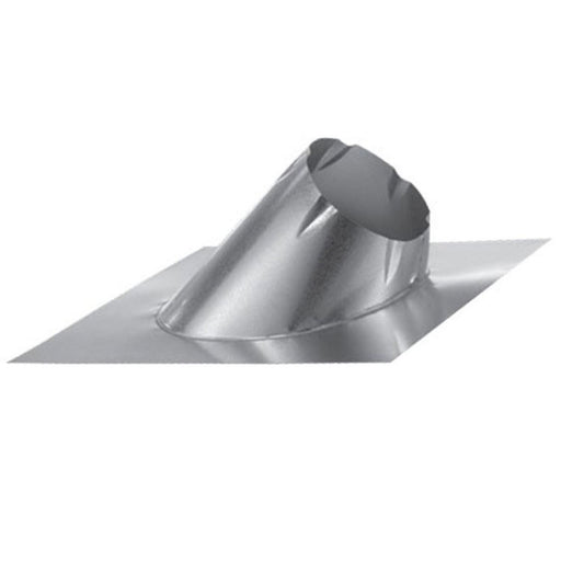 "DuraVent DuraTech Flat Roof Aluminum 6"" Flashing 0/12 - 6/12, 6DT-F6"