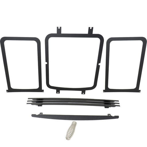 Ironstrike Black Trim Kit for Vision & Superior Direct Vent Gas Fireplace, 75277