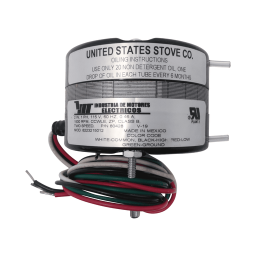 US Stove OEM Blower Motor, 80428 - Stove Parts 4 Less