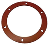 "Quadrafire Combustion Blower Gasket Fits many models, 6"" Silicone # 812-4710 - Stove Parts 4 Less"