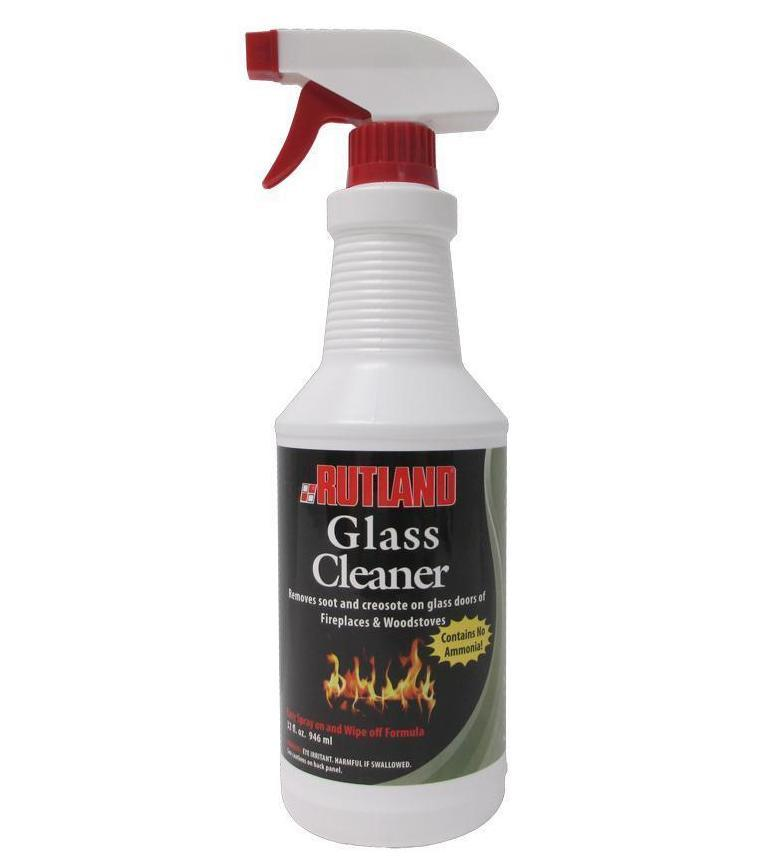 Rutland Glass Cleaner Removes Soot Amp Creosote On Glass