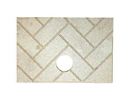 USSC US Stove Company Brick, herringbone, 891139 - Stove Parts 4 Less