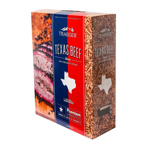 Traeger Texas Beef Pellet Blend 20LB Box, PEL326 - Stove Parts 4 Less