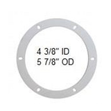 St Croix Round Combustion Fan Housing Gasket fits many models see description fro details - Stove Parts 4 Less