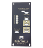 Breckwell Control Board Decal With 4 Heat Levels For the 1RPM Board , #C-L-101 - Stove Parts 4 Less
